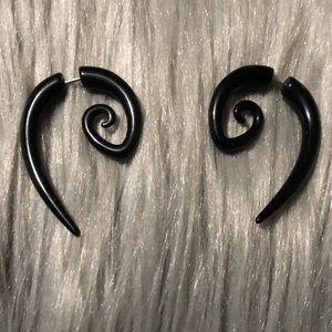 Black spiral Fake gauges
